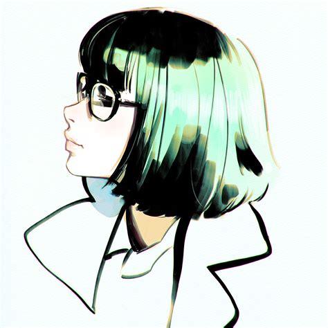 Anime Picture Original Ilya Kuvshinov Single Short Hair