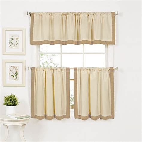 wilton window curtain tier pairs and valances bed bath