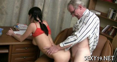Sexy Girl Seduces An Old Man Into Sex On Gotporn