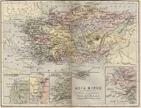 fileasia minor map classical atlas  keith johnston