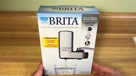 Brita Faucet Filter Light Not Working by Brita On Tap Faucet Water Filtration System Chrome