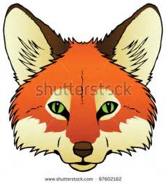 Cartoon Fox Face