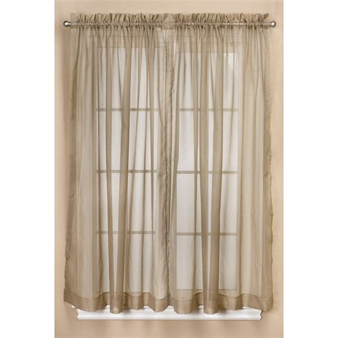 Dotted Swiss Kitchen Curtains by Commonwealth Home Fashions Dotted Swiss Sheer