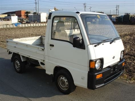 subaru sambar truck subaru sambar truck 4wd std 1990 used for sale