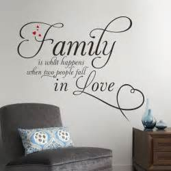 aliexpress com buy family in love home decor creative quote wall decals removable vinyl wall
