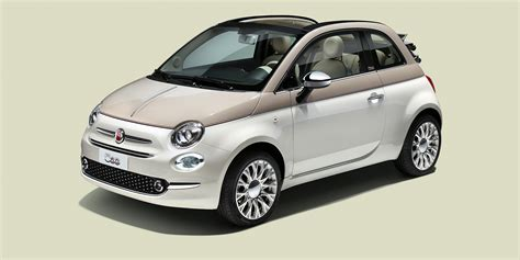 fiat 500 60th anniversary special edition arrives from