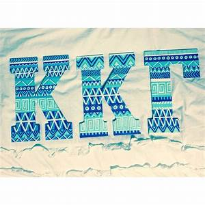 25 best ideas about painted sorority letters on pinterest With kappa kappa gamma wooden letters