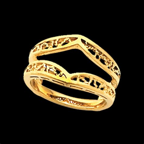 filigree design ring guard