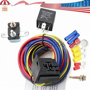 40205g Electric Fuel Pump Harness And Relay Wiring Kit