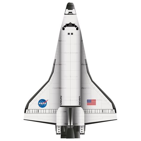 space shuttle clipart shuttle clipart clipground