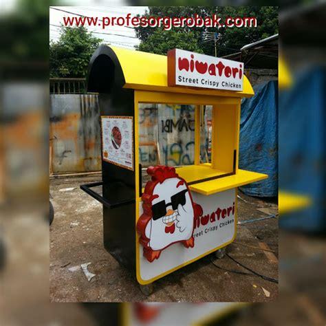 gambar gerobak makanan  minuman profesor gerobak