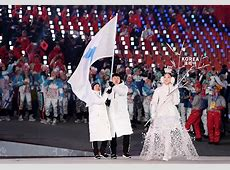 Unified Korea and Tonga's oiledup flag bearer Winter