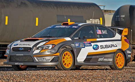 subaru shows new rx supercar racecar engineering