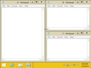 tiling window manager windows 10 aquasnap window manager dock snap tile organize