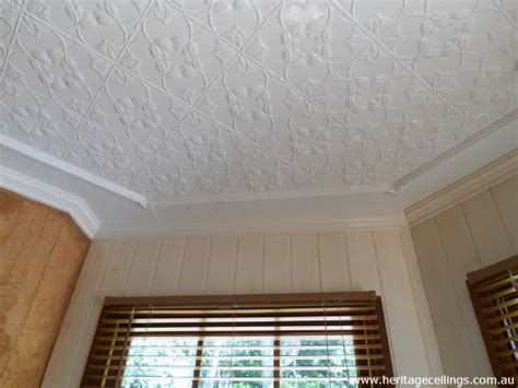 Pressed Tin Ceiling by Pressed Tin Ceilings At Turkeys Nest