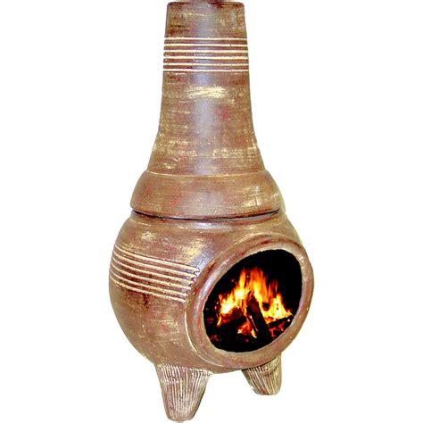 Terracotta Chiminea Lowes - shop pr imports 32 in h x 16 75 in d x 16 75 in w rust