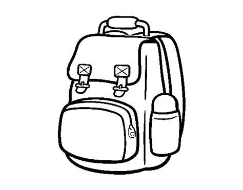 Dibujo de Mochila de montaña para Colorear Dibujos net