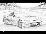 Coloring Race Cars Filminspector Racecars Humble sketch template