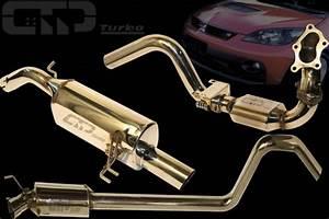Colt   Gt 2 Streetracing Auspuffanlage 60mm Ab Turbo