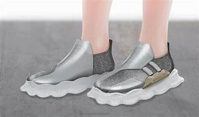 Soft Concept Sneaker Robotic Creeper Features Flexible