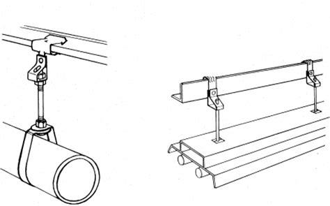 av155 am8t rs steel girder threaded rod clip hanger 1