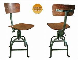 Chaise Bureau Industriel : un bon fauteuil de bureau ~ Teatrodelosmanantiales.com Idées de Décoration