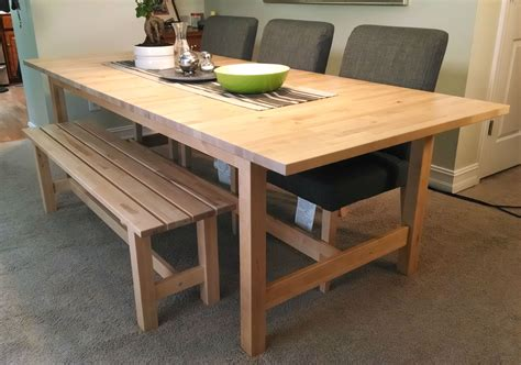 If Space Is Tight Around Your Dining Table, A Bench Might