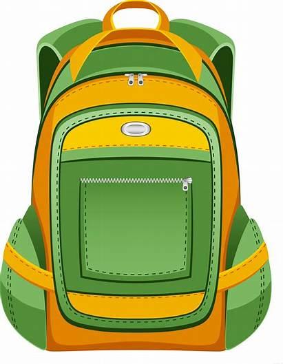Backpack Clipart Snack Bag Transparent Unlimited Vector