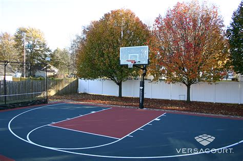 VersaCourt | Home & Backyard Basketball Court Photos