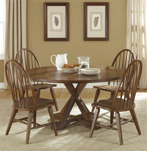 Round Dining Room Sets With Leaf  Marceladickcom