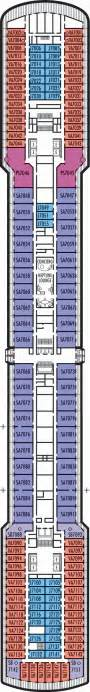 America Ms Westerdam Deck Plans by Rotterdam Deck Deck Plan