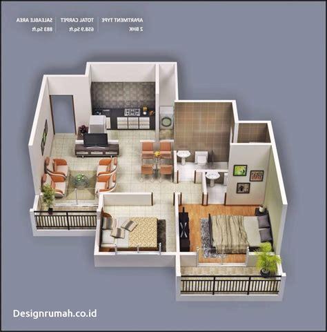 desain rumah minimalis empat kamar autorenovasi