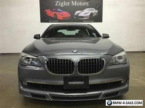 2012 Bmw 7-series Alpina B7 Lwb For Sale In United States