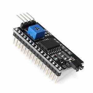 1602 Green LCD 16x2 HD44780 + IIC I2C Serial Interface ...