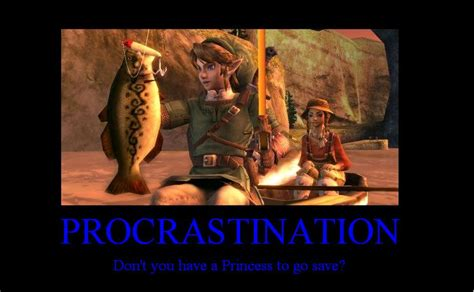 zelda humour demotivational posters