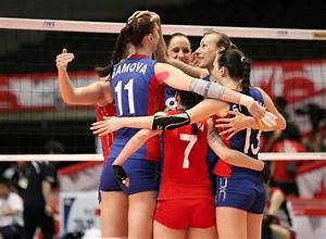 VOLLEYBALL: Russia and Japan only undefeated teams at ...