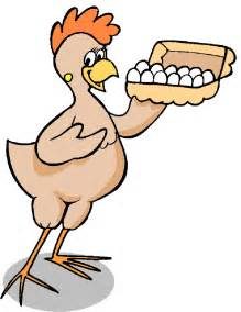 Chicken and Egg Clip Art