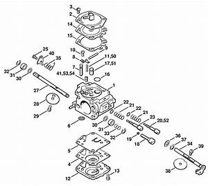 Husqvarna Chainsaw Carburetor Adjustment Diagram