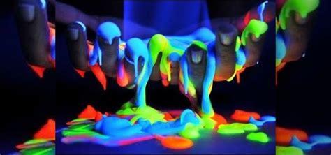 glow   dark slime  halloween   minute diy glow   dark slime