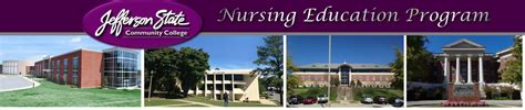 Welcome and thank you for your interest in jefferson state community college's registered nursing program. Campuses - NUR - Jefferson State Community College