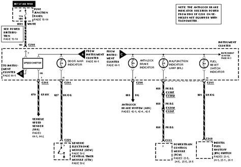 Ford Ranger Sdometer Wiring Diagram Auto Parts