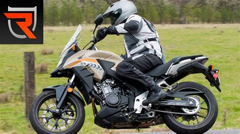Review Honda Cb500x by 2016 Honda Cb500x Abs Motorcycle Test Review