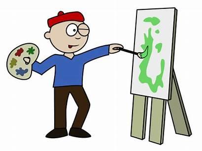 Cartoon Artist Funny Drawing Cartoons Draw Clipart