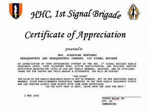 Sample Citation For Certificate Of Recognition Sample Of ...