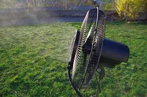 Ventilateur Brumisateur Sur Pied : ventilateur brumisateur d 39 ext rieur 3 vitesses 150cm ~ Melissatoandfro.com Idées de Décoration