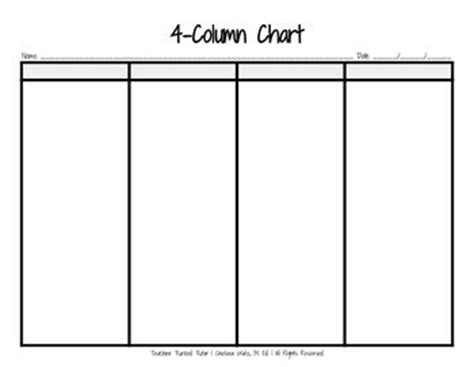 4column Chart  Charts. Raffle Tickets In Word Template. Simple Bookkeeping For Small Business Excel Template. Profile In Resume Examples Template. Resume For Teens. Minutes Template For Meeting Template. Resume Templates In Pdf Format Template. Letter Of Resignation To Employer Template. Teacher Cover Letter Samples Template