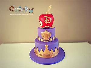 Descendants Disney Cake - The Quirky Cake Society