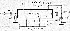mpc576h amplifier circuit diagrams With subwoofer amplifier