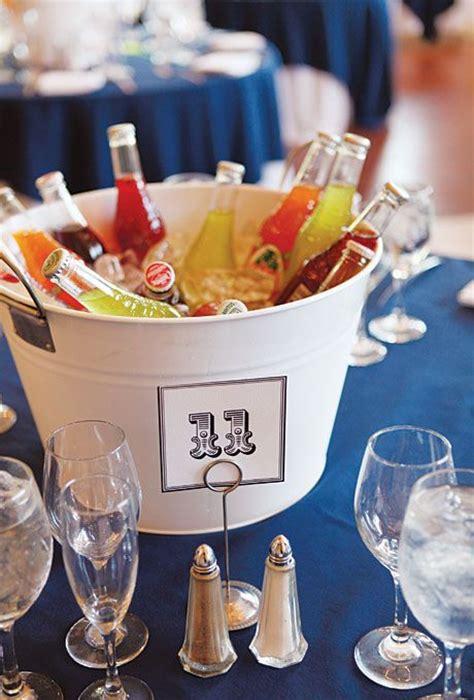 diy wedding decor  buckets