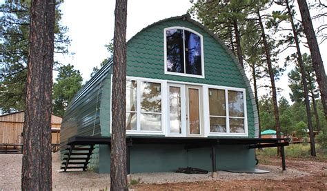 prefabricated arched cabins  provide  warm home    prefabricated arched